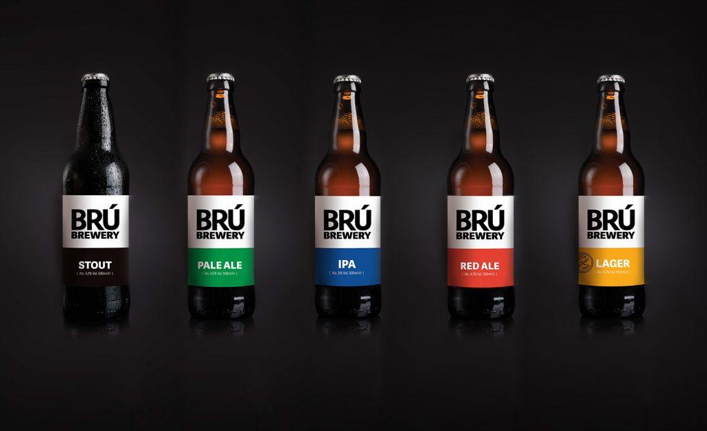 Bru Bottles Line Up