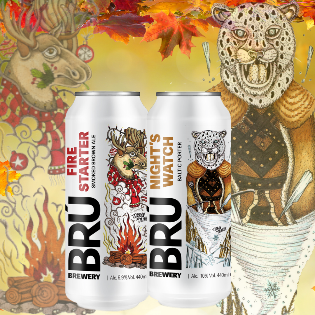 TWO NEW BRÚ BEERS FOR THE COOLER MONTHS thumbnail